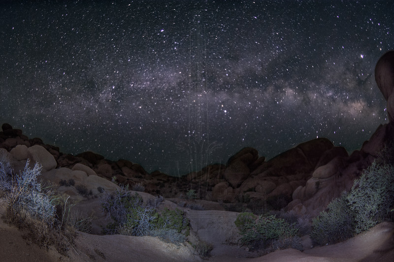 Milky Way adjacent to Arch Rock.