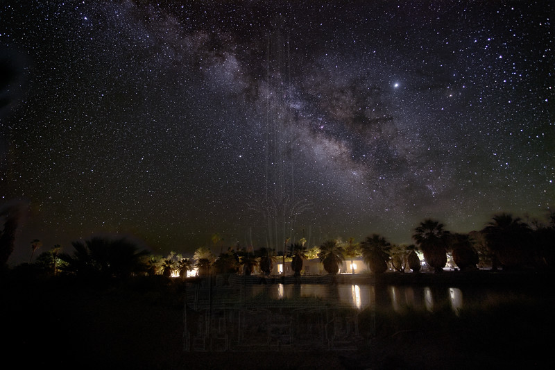 The Milky Way over the CSU Desert Research Center.
