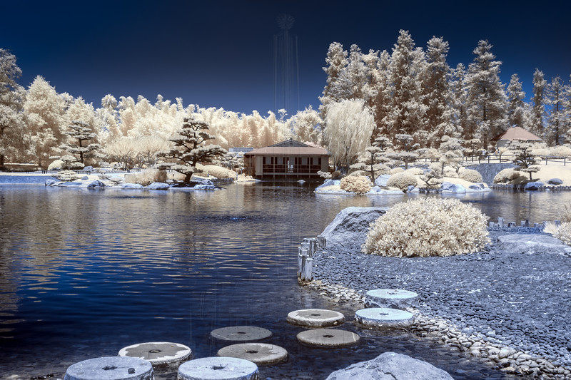 The Teahouse in Infrared.