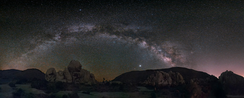 Milky Way at Ryan Mountain Trailhead
