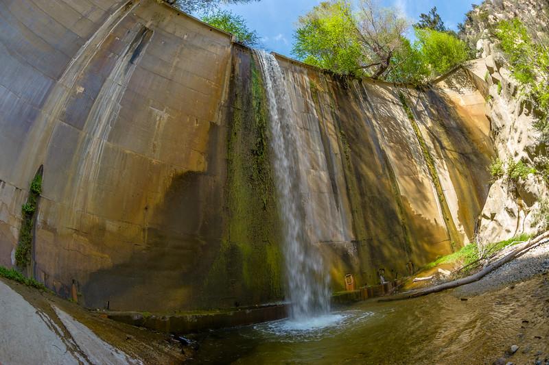 Brown Mountain Dam(fisheye).