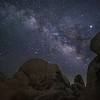 Milky Way and Arch Rock