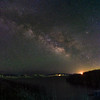 The Milky Way over Diaz Lake.