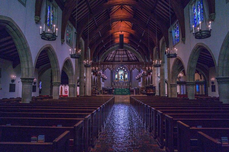 All Saints Church(interior).