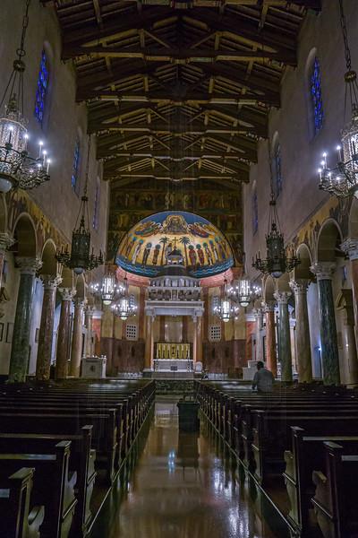 Saint Andrew's Catholic Church(Interior).
