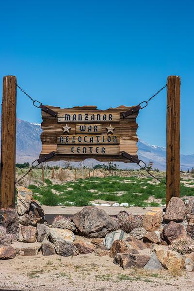Sign at Entrance.