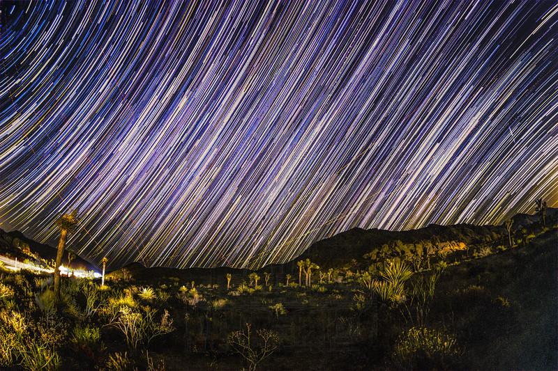 Milky Way Star Trail.