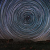 Star Trail centered on Polaris.