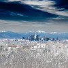Downtown Los Angeles and Mt. San Antonio(IR)