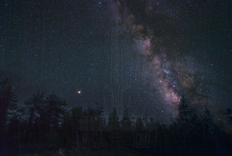 Milky Way from Mt. Pinos