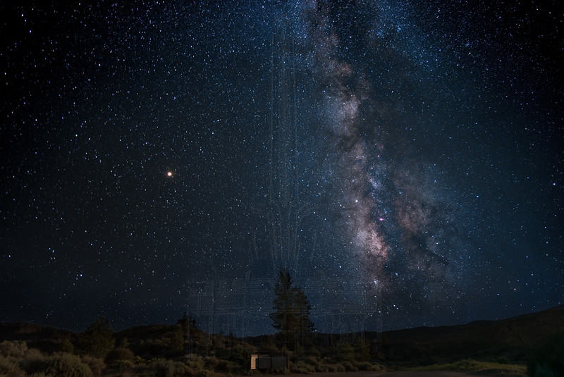 Milky Way in Lockwood Valley