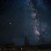 Milky Way in Lockwood Valley