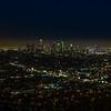 Wilshire Grand tower lightshow!