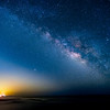 Milky rising at Twin Bush