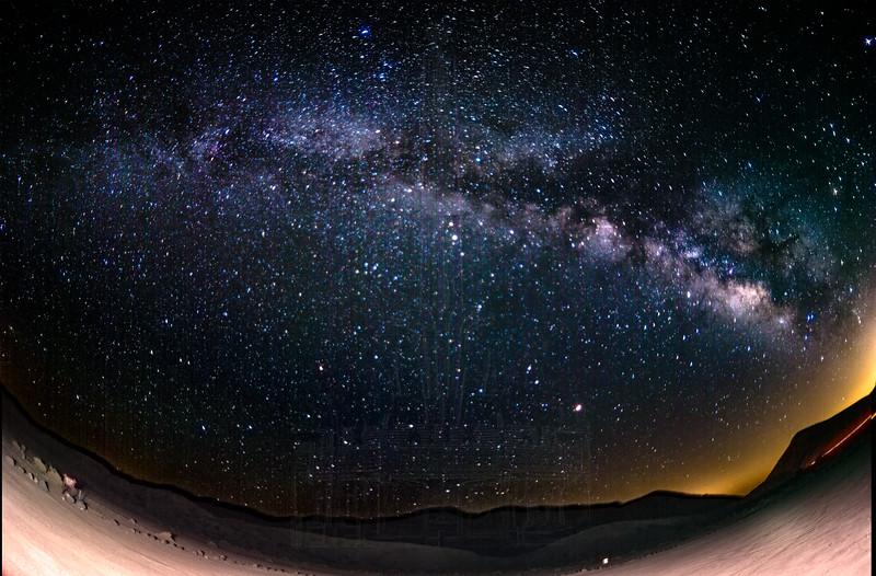 Milky Way at Red Rock(fisheye)