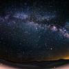 Milky Way at Red Rock(fisheye)