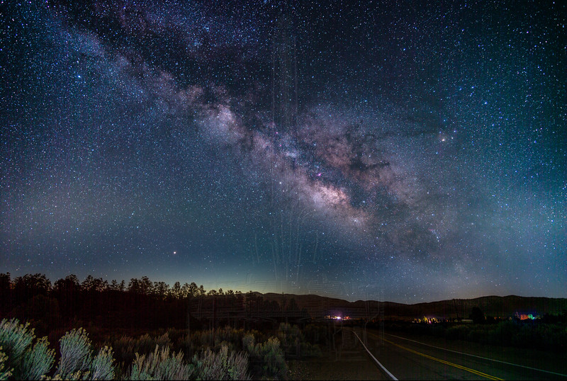 Milky Way at the Boy Scout Camp Road