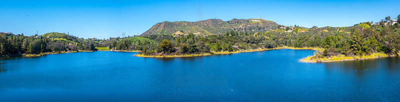 Hollywood Reservoir Panorama.
