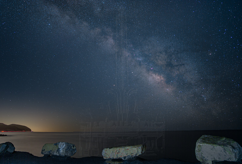 Milky Way from Point Mugu.