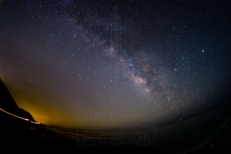Milky Way @ Twin Bush with the sky tracker.