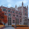 Kerckhoff Hall, there's one at U$C, but ours looks better.  This was the original student union building.