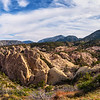 Pano shot of the western portion of the punchbowl.