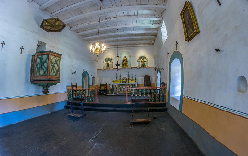 Alter in Priest's chapel.