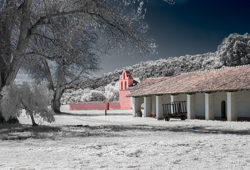 La Purisima Mission chapel and residential builidings(IR)