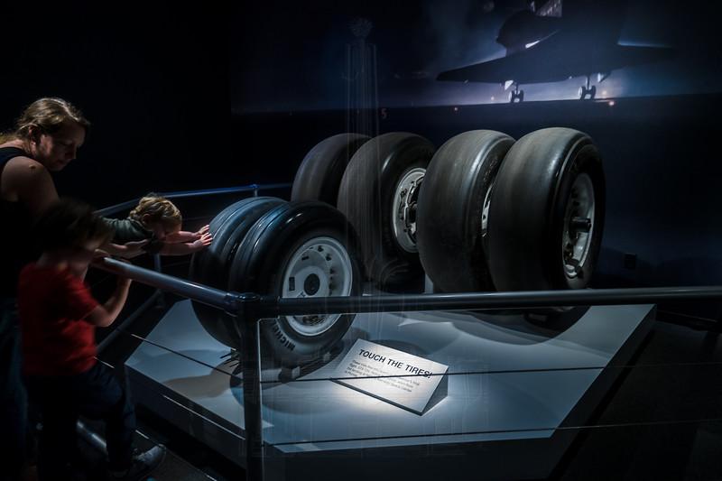 Endeavour's tires.