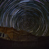 Star Trails at the Red Cliffs.