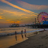 Twilight at the Pier.