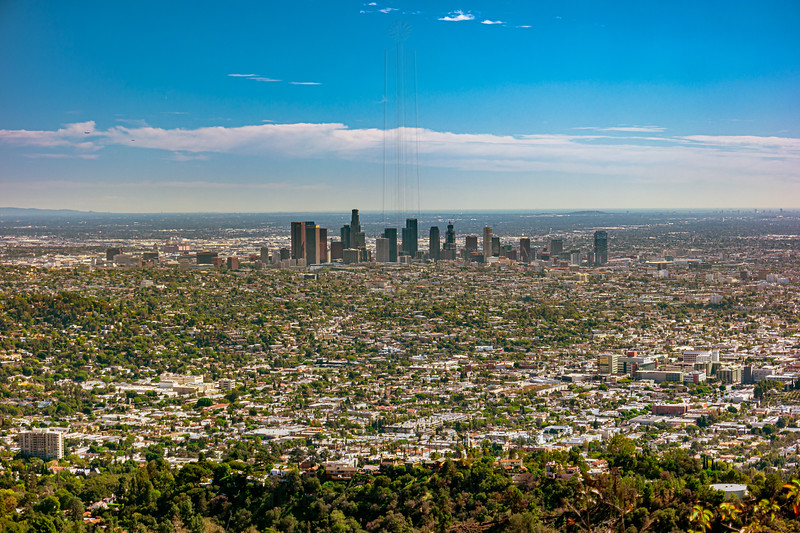 Downtown LA from Mt. Hollywood