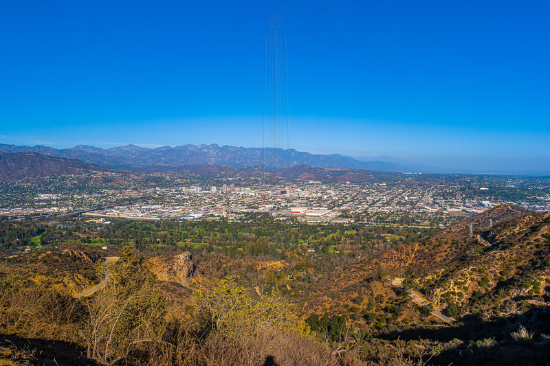 Glendale from just off the summit.