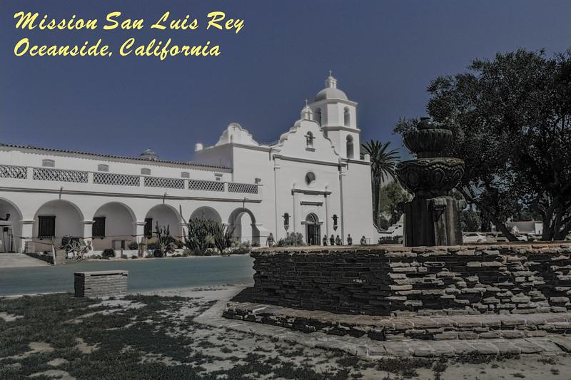 Mission San Luis Rey.