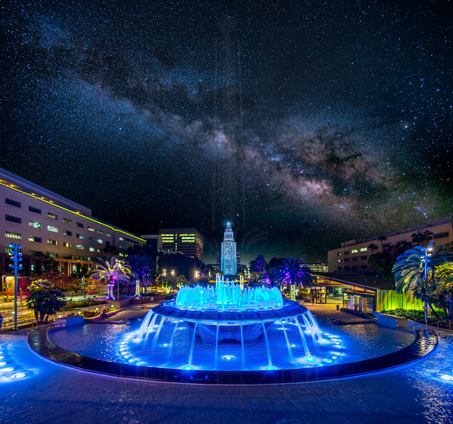 Milky Way over Grand Park.