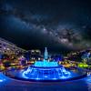 Milky Way over Grand Park.