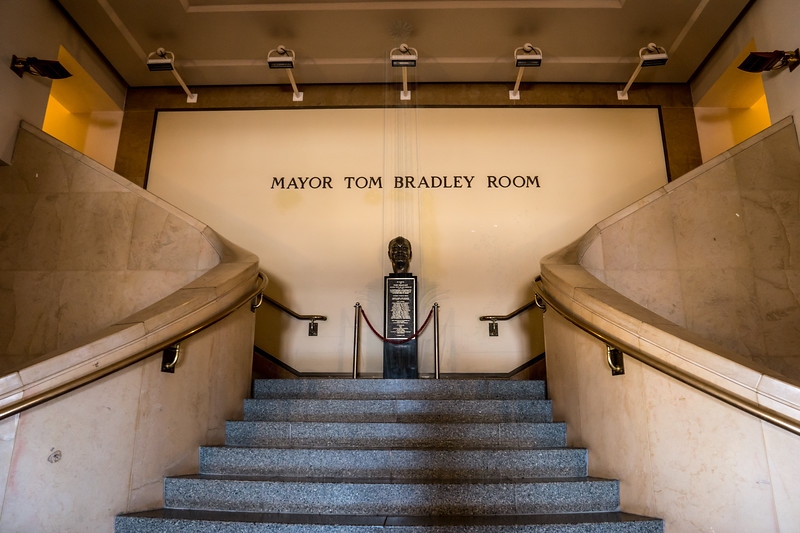 Entrance to the Tom Bradley Room.