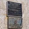 Historical designation markers.
