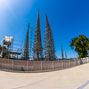 Overview of Watts Towers