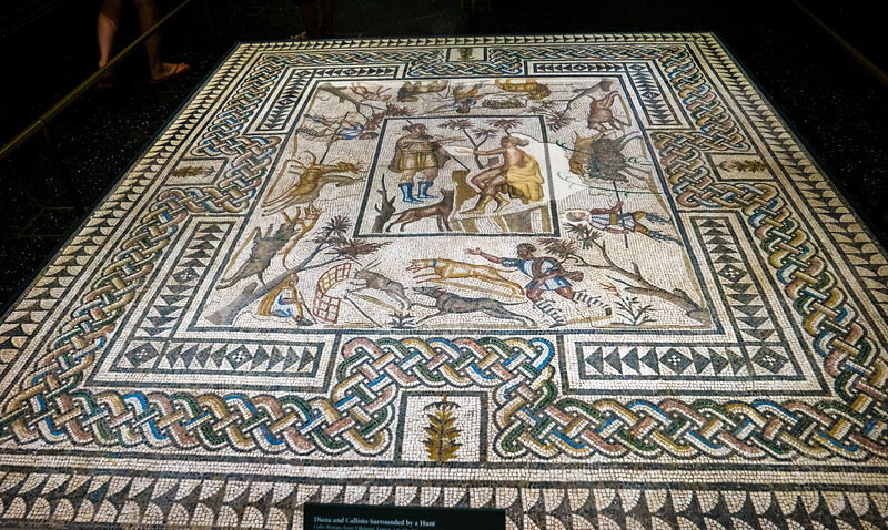 Tile mosaic.