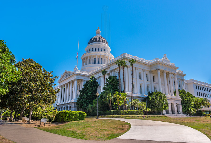 California State Capitol(side view).