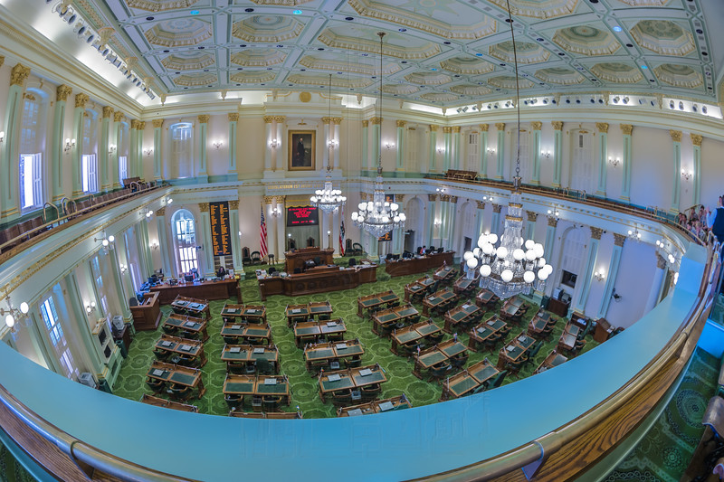 California State Assembly Chamber.