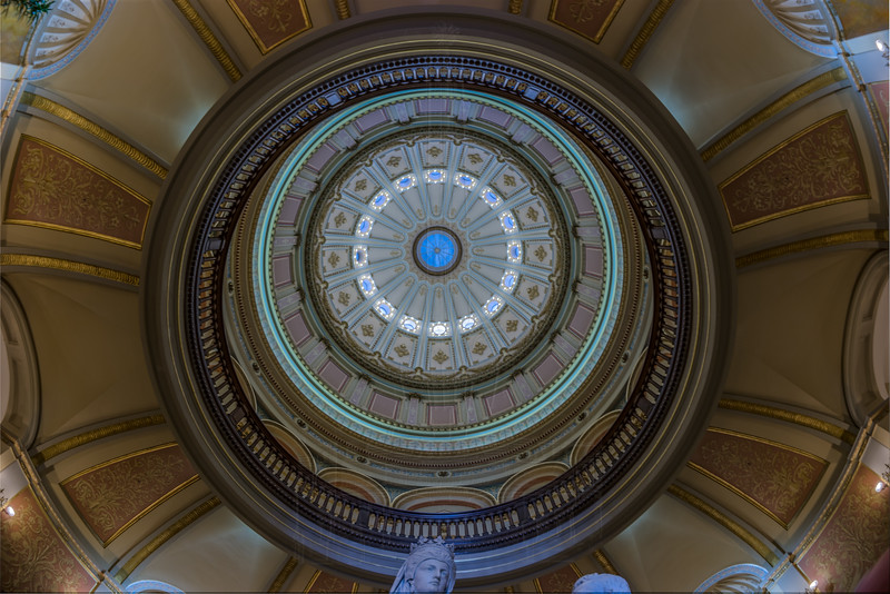 Interior of Capitol Dome.