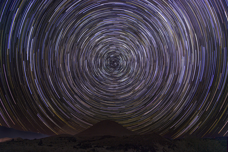 Star Trails at the Red Hill