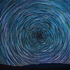 Star Trails over Mt. Pinos.