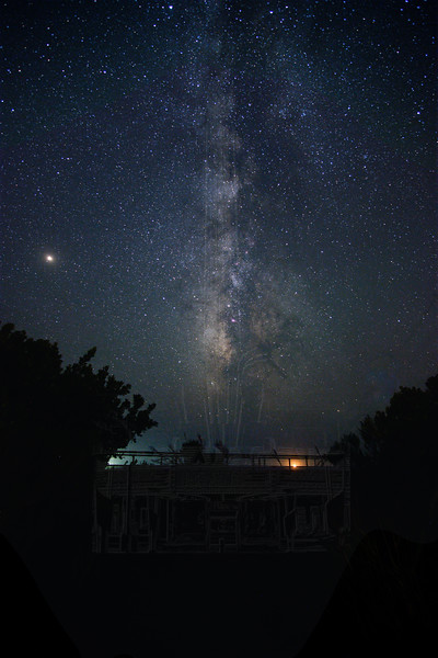 Milky Way at Arroyo Hondo.
