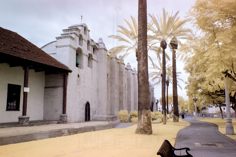 Bell tower and chapel(infrared).