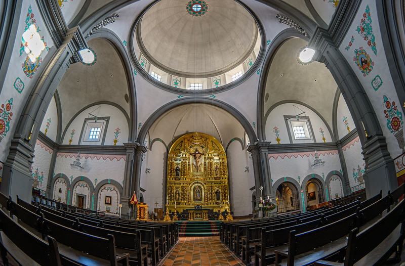 The Mission Basilica(with fisheye!)