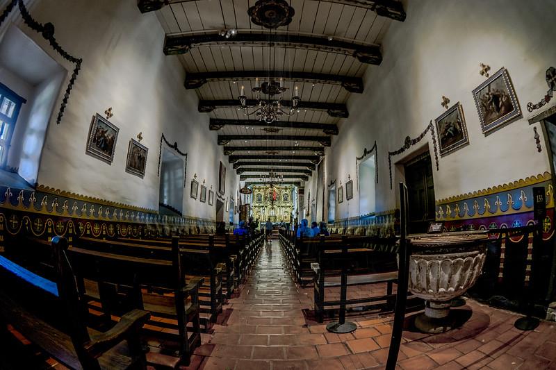 Serra's Chapel(with fisheye!)