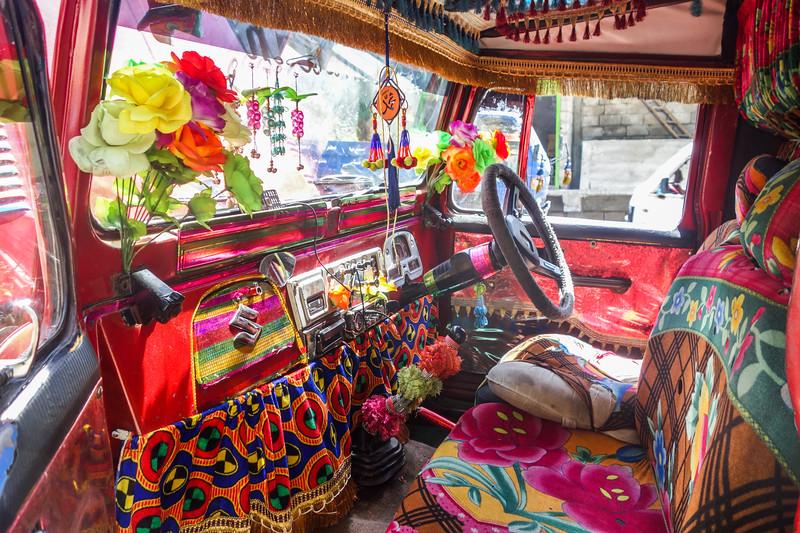 A local jeep cab in the Galliat